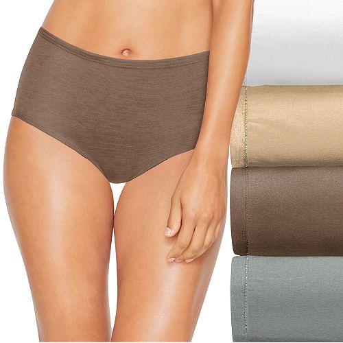 Hanes Ultimate 4-pk. Comfort Soft Brief Panties 46HUSB
