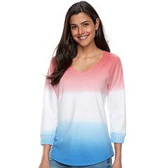 Women's SONOMA Goods for Life™ Drop Sleeve V-Neck Sweatshirt