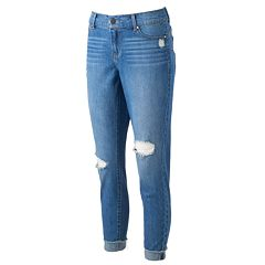 Women's Juicy Couture Flaunt It Ripped Skinny Ankle Jeans