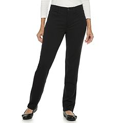 Women's Croft & Barrow® Easy Care Straight-Leg Pants