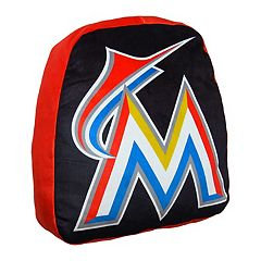 Miami Marlins Cloud Throw Pillow by Northwest