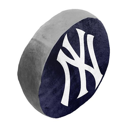 New York Yankees Cloud Throw Pillow by Northwest