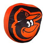 Baltimore Orioles Cloud Throw Pillow by Northwest