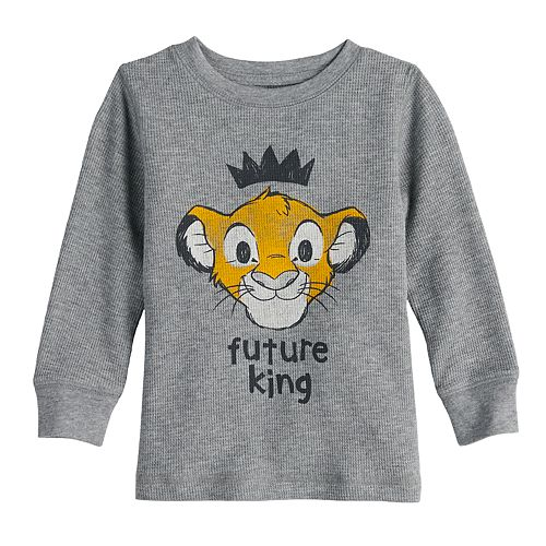"Disney's Lion King Toddler Boy ""Future King"" Simba Thermal Graphic Tee by Jumping Beans®"