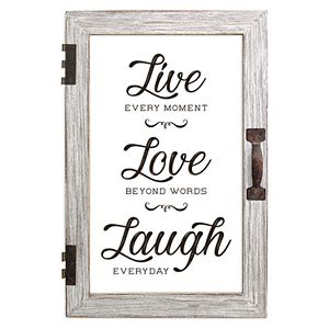 New View Live Love Laugh Framed Wall Art