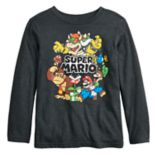 Boys 4-12 Jumping Beans® Super Mario Bros. Look Out Graphic Tee