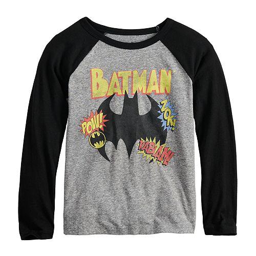 Boys 4-12 Jumping Beans® DC Comics Batman Raglan Graphic Tee
