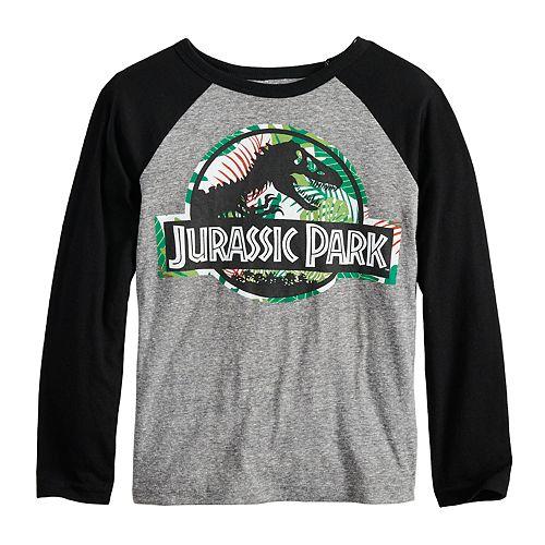 Boys 4-12 Jumping Beans® Jurassic Park Raglan Graphic Tee