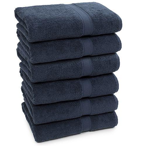 Linum Home Textiles 6-piece Terry Bath Towel Set