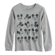 Disney's Mickey Mouse Toddler Boy Faces Grid Graphic Tee