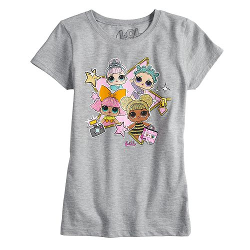 """Girls 7-16 L.O.L. Surprise """"Making My Debut"""" Graphic Tee"""