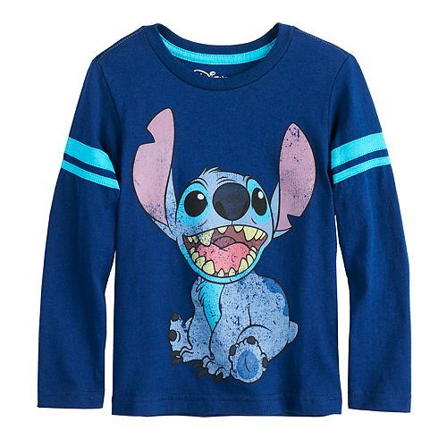 Disney's Lilo & Stitch Toddler Boy Front & Back Graphic Tee