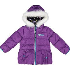 Toddler Girl Skechers Heavyweight Puffer Jacket