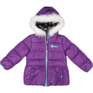 Toddler Girl Skechers Heavyweight Puffer Jacket