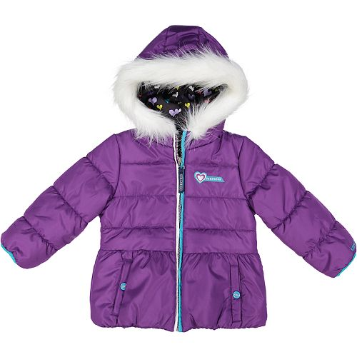 available price remains stable Super discount Toddler Girl Skechers Heavyweight Puffer Jacket