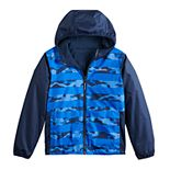 Boys 4-20 Columbia Pixel Grabber Reversible Jacket