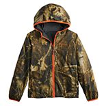 Boys 4-20 Columbia Pixel Grabber Reversible Jacket