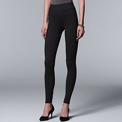 Women's Simply Vera Vera Wang Pull-On Leggings