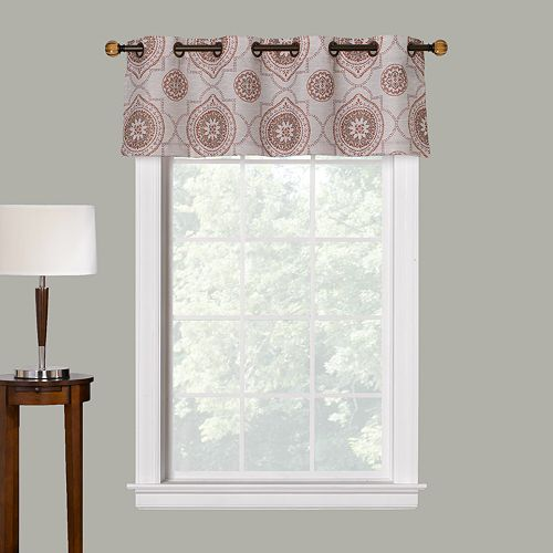 The Big One® Medallion Decorative Window Valance