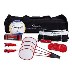 Champion Sports Tournament Series Volleyball/Badminton Set