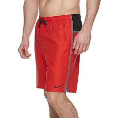 Big & Tall Nike Perforated Diverge 9-inch Volley Swim Trunks