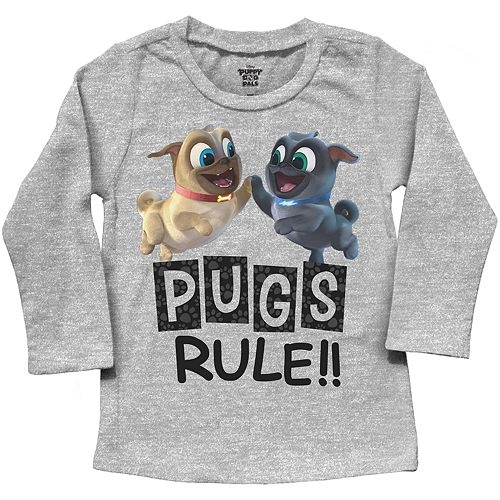 """Toddler Boy Jumping Beans® Puppy Dog Pals """"Pugs Rule!!"""" Graphic Tee"""