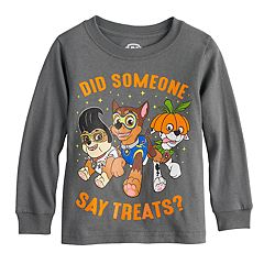 Toddler Boy Paw Patrol Chase, Marshall & Rubble Halloween Graphic Tee