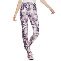Juniors' SO® Print High-Waisted Yoga Leggings