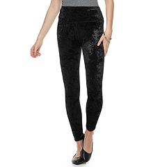 Juniors' SO® Velour High-Waisted Yoga Leggings