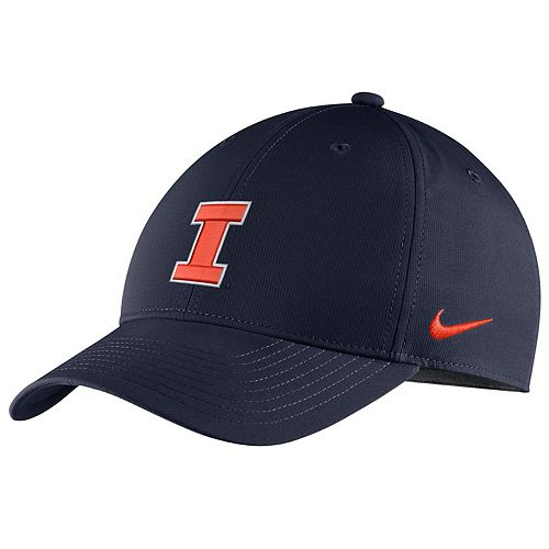 Adult Nike Illinois Fighting Illini Adjustable Cap