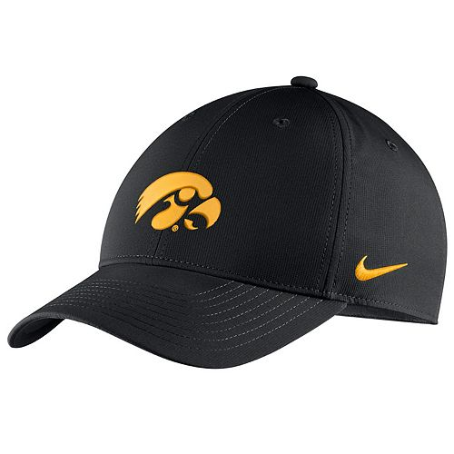 Adult Nike Iowa Hawkeyes Adjustable Cap