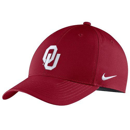 Adult Nike Oklahoma Sooners Adjustable Cap