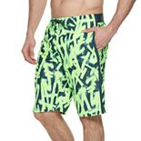 Big & Tall Nike Glow Diverge 9-inch Brushed Microfiber E-Board Swim Trunks
