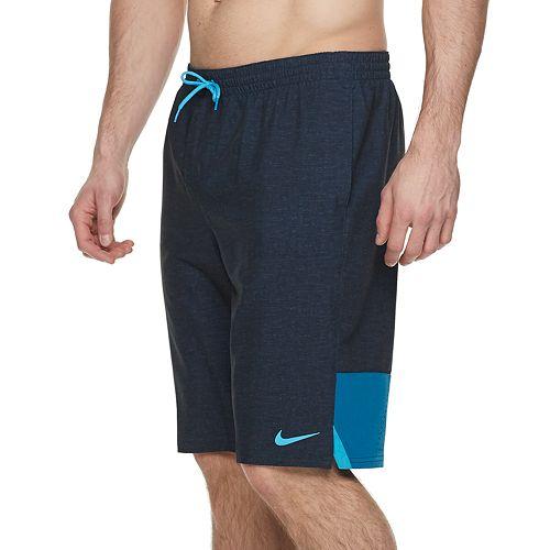 Big & Tall Nike Perforated Logo Vital 9-inch Volley Swim Trunks