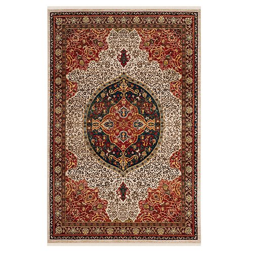 Safavieh Kashan Emma Scroll Framed Rug