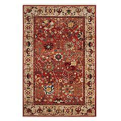 Safavieh Kashan Jenn Floral Framed Rug
