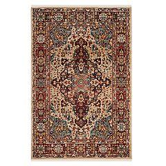 Safavieh Kashan Marcella Floral Framed Rug