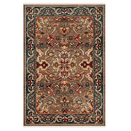 Safavieh Kashan Lauren Floral Framed Rug