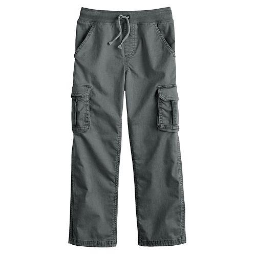 Boys 4-12 SONOMA Goods for Life™ Straight Cargo Pants