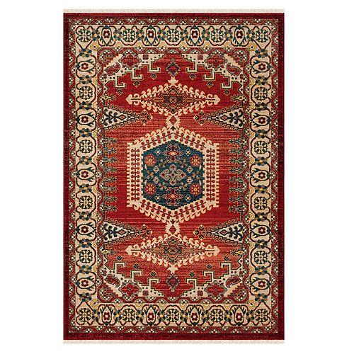 Safavieh Kashan Maria Geometric Framed Rug