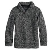 Boys 4-12 SONOMA Goods for Life? Sweater Fleece Shawl Pullover Top