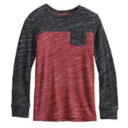 Boys 4-12 SONOMA Goods for Life? Colorblock Pocket Knit Top