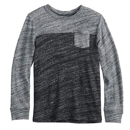 Boys 4-12 SONOMA Goods for Life™ Colorblock Pocket Knit Top