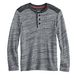 Boys 4-12 SONOMA Goods for Life™ Colorblock Henley Top