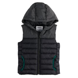 Boys 4-12 SONOMA Goods for Life? Quilted Hood Puffer Vest