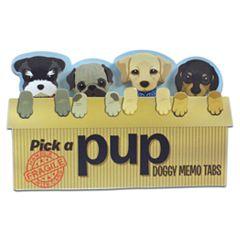 Streamline Pick a Pup Memos Tabs