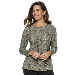 Women's Croft & Barrow® Extra-Soft Crewneck Sweatshirt