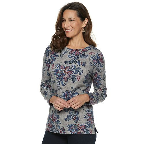Women s Croft   Barrow® Extra-Soft Crewneck Sweatshirt 11f3d1b15