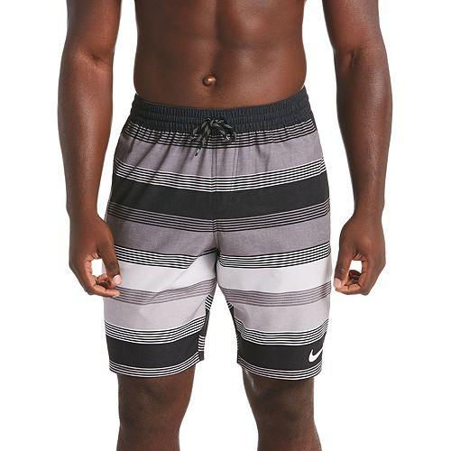 Men's Nike 6:1 Linen Racer Striped 9-inch Volley Swim Trunks