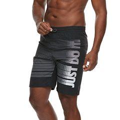 04ef34bd4801c Men's Nike JDI Vital 9-inch Volley Swim Trunks. Black Indigo Fog